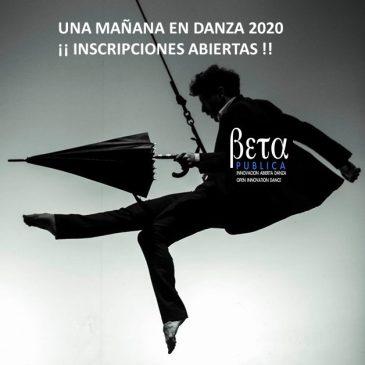Una Mañana en Danza 2020- Apertura de Inscripciones
