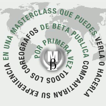MasterClass de BETA PUBLICA 2020. Domingo 18 de octubre de 12.00 a 13.30